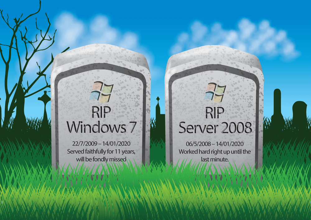end of life win7 server 2008